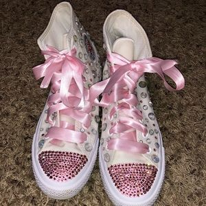 Blinged converse